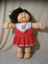 2004 Play Along Cabbage Patch Kid, CPK, Brown Hair/Blue Eyes, Cheerleader Outfit