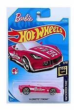 Hot Wheels BARBIE '14 CORVETTE STINGRAY - HW Screen Time - Brand NEW!