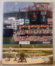Busch Stadium First Pitch St. Louis Cardinals 2006 8x10 Photo With Toploader