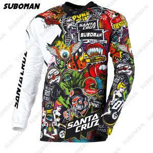 Camiseta De Motocross Para Hombre Ciclismo Ropa De Secado Rápido Deportivo Motos