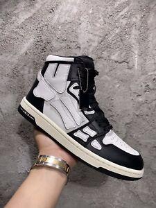AMIRI Skeleton HI-Top Sneakers AVAILABLE IN BLACK