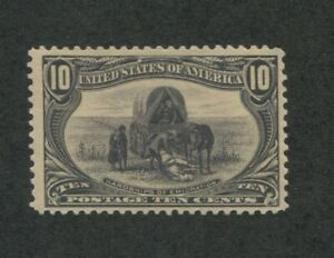 1898 United States Postage Stamp #290 Mint Hinged VF No Gum