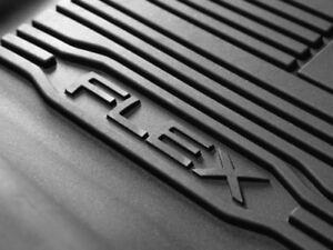 Ford Genuine OEM All-Weather Floor Liner Floor Mat Set - Ford Flex - 2009-2018