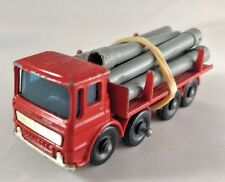 Lesney Matchbox No 10 Pipe Truck with Pipes Vintage Diecast
