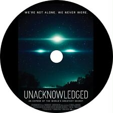 Unacknowledged (2017) Documentary Dvd