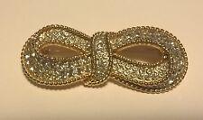 spilla d'epoca bigiotteria americana SPHINX broche Bijoux Vintage pavè diamanti