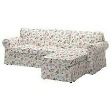 IKEA Ektorp Sectional Loveseat & Chaise Cover Slipcover VIDESLUND 303.046.89