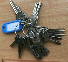 More details for set of 19 key pass, master and mobility scooter keys keys for different uses