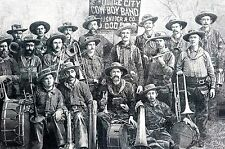 Cowboy Band Dodge City KS 1884 FIRST NATIONAL CATTLEMEN CONVENTION MISSOURI Art