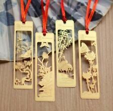 4pcs/ set Gold Metal Bookmarks