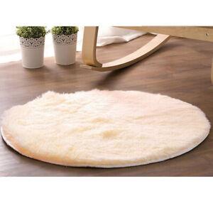 Plum-shaped Heart Fluffy Rug Shaggy Area Rug Soft Bedroom Home Floor Carpet Mat#
