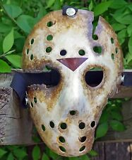 Jason Voorhees Mask Friday The 13th Custom Customized Goes To Hell Part 9 IX
