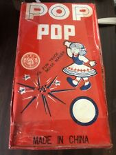1960 Vtg HORSE BRAND POP POP Fun Trick Noise Maker UNOPENED Case