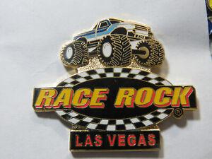 Race Rock Monster Truck Pin Las Vegas