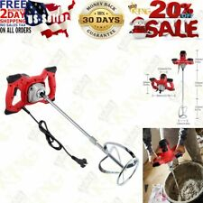 2100w Electric Handheld Cement Mixerportable Mortar Concrete Mixer Drill With