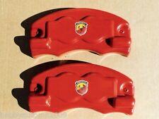 FIAT BRAVO FINO AL 2007 COPRIPINZE TUNING ROSSE KIT 2 PEZZI ANTERIORI PF805