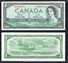 CANADA 1 DÓLAR AÑO 1954  Pick # 75B  S/C  UNC