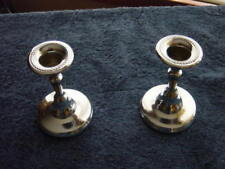 Vintage Candlestick Chrome Art Deco Modern BROOKLYN, NY