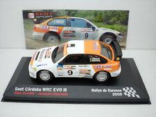 COCHE SEAT CORDOBA WRC EVO III 1:43 IXO SPORT RALLY OURENSE 2005 Alex Criville