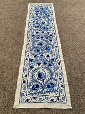 UZBEK  WALL HANGING BEAUTIFUL EMBROIDERY ORIGINAL HANDMADE VINTAGE SUZANI