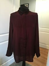 AllSaints Women's Silk Tops & Shirts