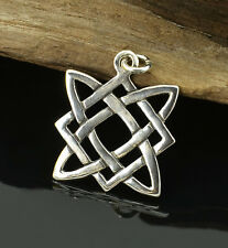 Slavic Star of Svarog Silver Pendant Warrior Medieval Charm Pagan Jewelry Charm