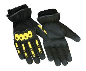 Precinct One Fire Resistant Leather Extrication Hard Knuckle Protection Glove