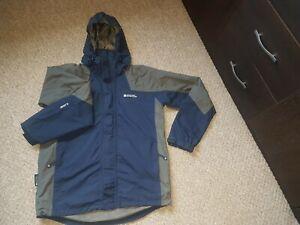 Mens Mountain Warehouse Zip Hooded Waterproof Jacket Size Small