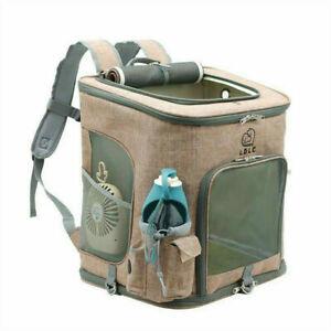 24LB Breathable Pet Carrier foldable Dog Bag Backpack Carrying Cat N Dog Travel
