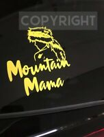 WVU Mountaineers Car Window Decal Vinyl Mountain Mama West Virginia