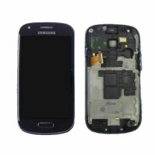 Pantalla Lcd + Tactil con Marco Samsung Galaxy S3 Mini (I8190) Negra Nueva