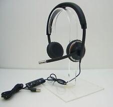 Plantronics - M C520-M Estéreo Diadema USB PC Auriculares Ms Skype Certificado