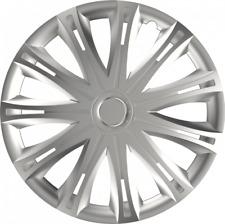 "TOYOTA YARIS (99-06) 14"" 14 in (ca. 35.56 cm) AUTO FURGONE rifiniture ruota Hub caps silver"