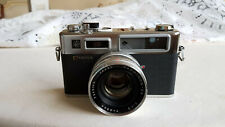 Yashica Electro 35 G 35mm SLR Film Camera with 45mm lens Kit