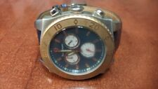 TONINO LAMBORGHINI WATCH 10M CHRONOGRAPH BLUE DIAL Free Shipping!!