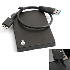 1TB USB 3.0 Black Portable External Hard Drive Ultra Slim For One Mac Windows US
