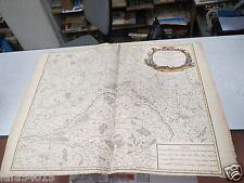 CARTE MAP GOUVERNEMENT GENERAL D ORLEANOIS BLAISOIS BEAUCE VAUGONDY XVIII EME *