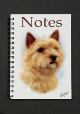 Norwich Terrier Notebook/Notepad with a small image on each page - by Starprint