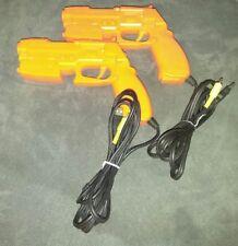 Namco NPC-106 G/C GunCon Light Gun Controller Sony PlayStation 2 PS2 (2 Guns)