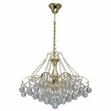 Crystal Chandelier Ceiling 8 Light Glass Gold 232017408 MW-LIGHT NEW (S)