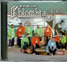 Sabor Kolombia Ritmo de Mi Barrio    BRAND  NEW SEALED  CD