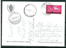 ITALIA REP. - 1961 - 3ª giornata del francobollo -  Cavallino sardo su FDC - (E)