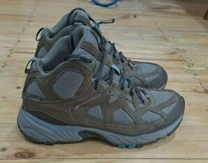 Womens Columbia Hiking Trail Boots Size US 10
