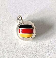 Genuine THOMAS SABO Sterling Silver & Enamel GERMAN Football Charm