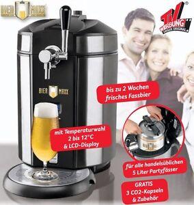 Biermaxx Zapfanlage Bierzapfanlage Bier Maxx für 5 l Partyfässer  Bierzapfen