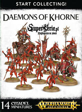 ON STOCK! Start Collecting! Daemons of Khorne - Games Workshop miniatures