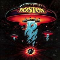 BOSTON First Album BANNER HUGE 4X4 Ft  Fabric Poster Tapestry Flag album art