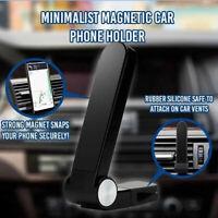 Minimalist Magnetic Car Phone Holder Fully Adjustable 360 Degree Phone Holder!