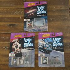 1998 Johnny Lightning Lost In Space Lot Of 3. Robot B9, Chariot, Jupiter 2
