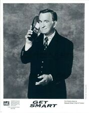 1994 Actor Don Adams as Maxwell Smart Holding Shoe Phone Get Smart Press Photo